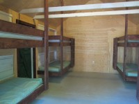 Cabin   7 bunk Interior